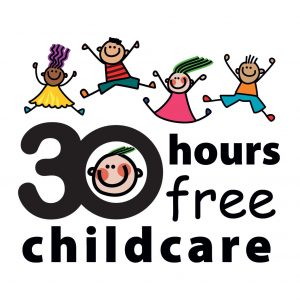 30 hour free childcare logo