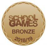 Bronze School Games logo