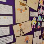 Display of work relating to Cinderella