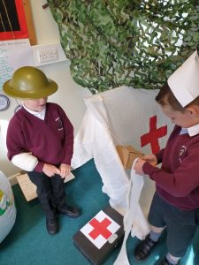 We have role play in every class to bring learning to life