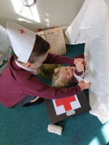 First aid role play