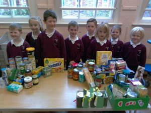 Infant Class Harvest Box Display