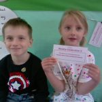 Infant class Jigsaw award: Including others