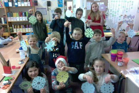 Junior class decorations