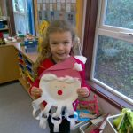 Early Years Sharing Learning: Making a santa
