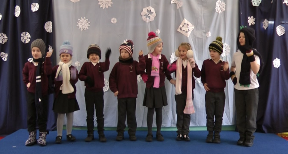 Infant class winter production
