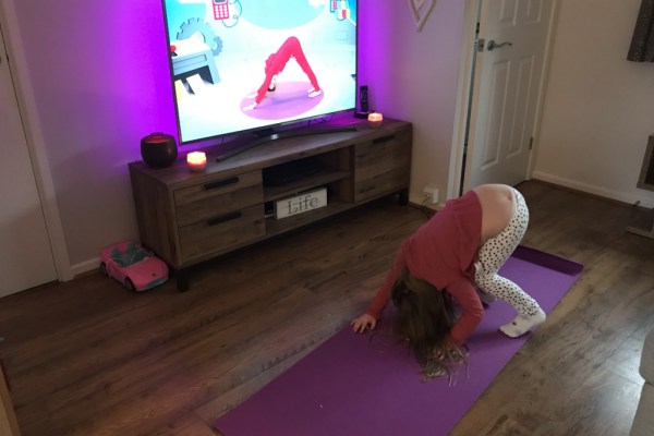 pupil stretching at home