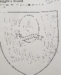 template of a shield