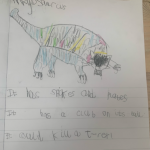 Another dinosaur drawing