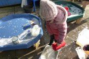 having fun with water