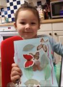 receiving postcard