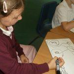 Infant class maths work