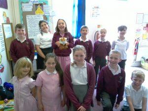 Junior class group