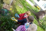 early years pupils enjoying science week