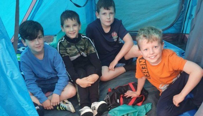 Junior class campout