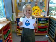 early years postcard