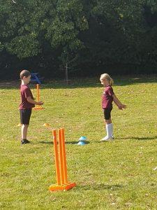 Learning cricket skills