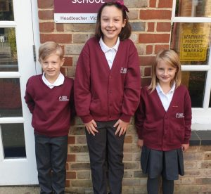 Reed First School winter uniform